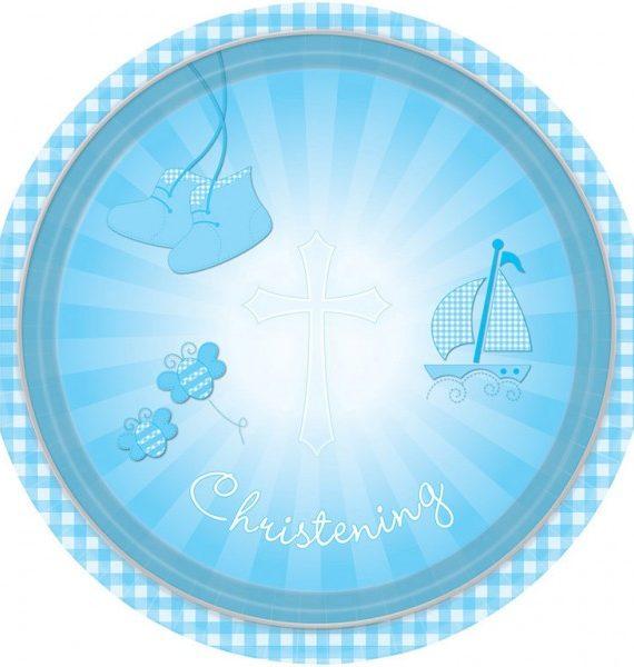 DPA997302 570x600 - Keresztelő party szett - 2 részes kék