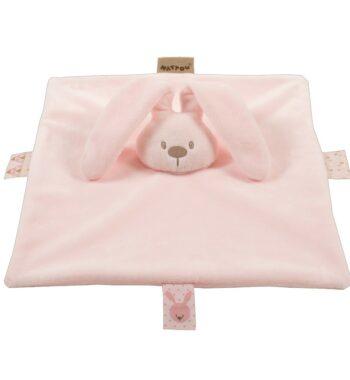 Nattou szundikendő Lapidou rózsaszín 350x380 - Egyedi baba ajándék