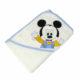 P1320587 80x80 - Névre szóló kapucnis törölköző – Mickey egér 2 - fehér