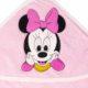 P1320596 80x80 - Névre szóló kapucnis törölköző – Minnie egér - rózsaszín