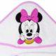 P1320604 2 80x80 - Névre szóló kapucnis törölköző – Minnie egér - fehér