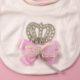 P1320716 80x80 - Ünneplő, keresztelő ruha szett - 5 részes - koronás - rózsaszín 2.