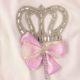 P1320717 80x80 - Ünneplő, keresztelő ruha szett - 5 részes - koronás - rózsaszín 2.