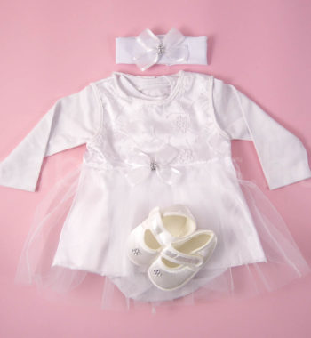 P1320723 350x380 - Keresztelő ruha szett kislányoknak 2. - 4 részes