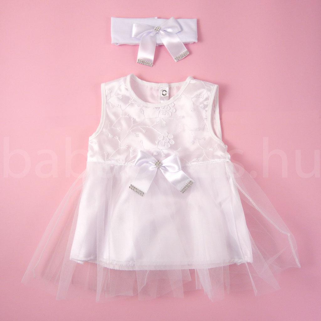 Keresztelő ruha szett kislányoknak 3. - 4 részes - Babaoázis ... f4320548b9