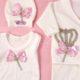 P1320766 80x80 - Ünneplő, keresztelő ruha szett - 11 részes - rózsaszín