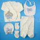 P1320782 80x80 - Ünneplő, keresztelő ruha szett - 5 részes - koronás - világoskék