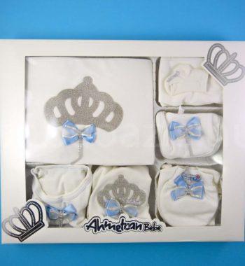 P1320796 350x380 - Ünneplő, keresztelő ruha szett - 11 részes - kék