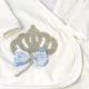 P1320798 80x80 - Ünneplő, keresztelő ruha szett - 11 részes - kék