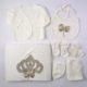 P1320814 80x80 - Ünneplő, keresztelő ruha szett - 11 részes - bézs