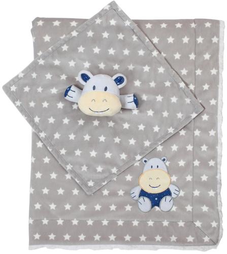 babyono takaro puha minky es vizilo szundikendo 75x100cm szurke  - Babyono babatakaró puha minky és viziló takaró és szundikendő 75x100cm szürke