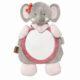 Nattou plüss babafigyelő tükör Valentine, elefánt figura 38x24cm #424349