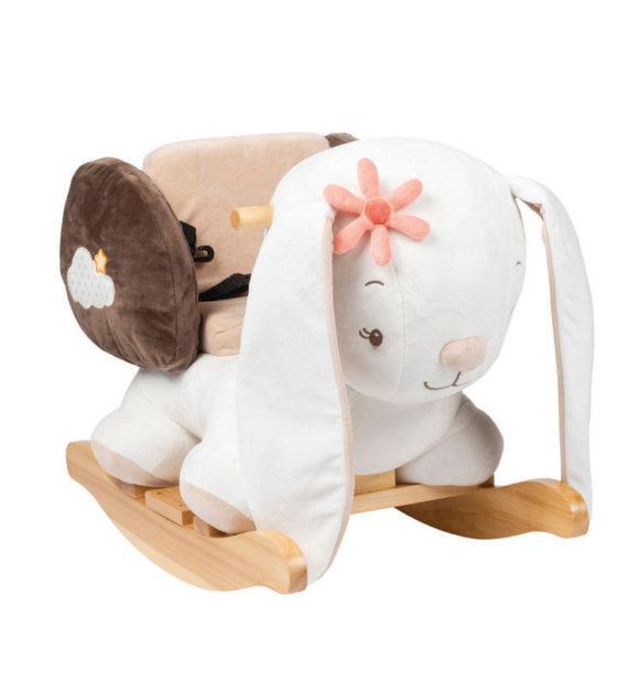 nattou pluss hintazo allatka mia a nyul 562232 01 2 570x619 - Nattou plüss hintázó állatka - Mia, a nyuszi 62x32x52cm