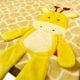 babatakaro 10 80x80 - Névre szóló mikroszálas babatakaró-Bobobaby – zsiráf 3D-sárga