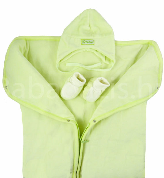 babatakaro P1330143 2 570x619 - Bebessi takaró szett - zsiráfos-zöld