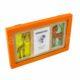 P1330210 80x80 - Baba képkeret 3D állatos-narancs