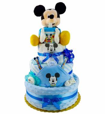 mickey pelenkatorta 5 350x380 - Mickey pelenkatorta - 3 szintes