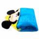 mickey babatakaro DSCF4125 3 1 80x80 - Névvel hímzett Mickey egér kapucnis plüss takaró - kék-100 x 100 cm