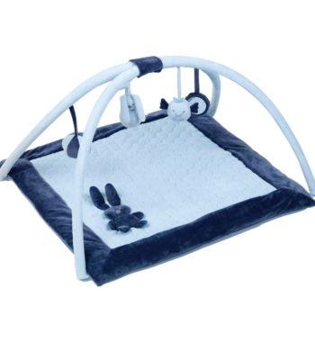 nattou jatszoszonyeg lapidou kek 879200 01 350x380 - Nattou plüss játszószőnyeg Lapidou - kék-879200