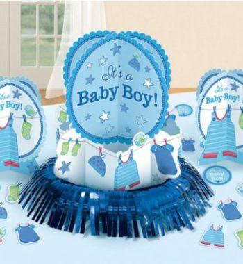 DPA281491 350x380 - Baby Boy Asztali dekoráció szett