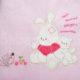 baba takaro DSCF4727 2 80x80 - Bebessi takaró szett - nyuszis-rózsaszín
