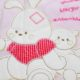 baba takaro DSCF4727 3 80x80 - Bebessi takaró szett - nyuszis-rózsaszín