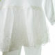 keresztelo ruha DSCF5060 4 80x80 - Ünneplő, keresztelő ruha szett - 3 részes - kislány