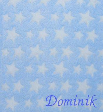babatakaro DSCF6208 4 350x380 - Névre szóló wellsoft babatakaró – csillagos-kék