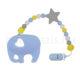 Szilikon rágcsalánc – Elefánt-kék