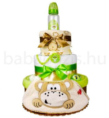 majom pelenatorta P1000088 5 350x380 - Egyedi baba ajándék