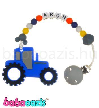 ragcsalanc DSCF6878 1 350x380 - Szilikon rágcsalánc -Traktor-kék