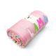 DSCF7232 80x80 - Névre szóló kötött babatakaró-láma-rózsaszín