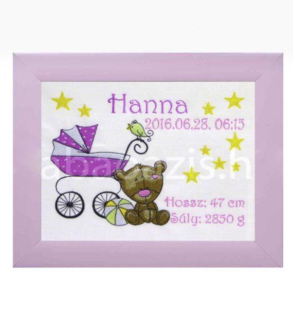 baba képkeret 570x619 - Egyedi baba ajándék