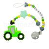 Szilikon cumilánc-rágcsalánc-Traktor