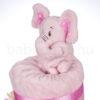 DSCF8340 100x100 - Elefáni pelenkatorta – rózsaszín 2