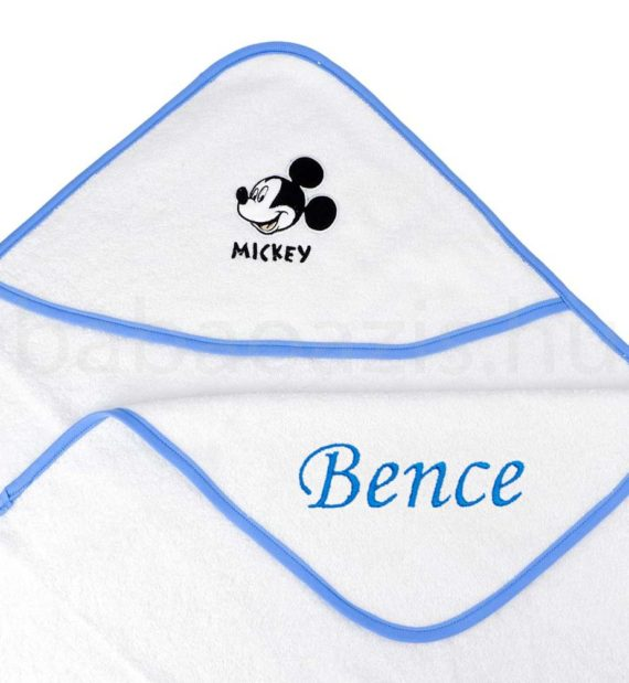 mickey kapucnis babatörölköző