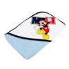 DSCF8626 100x100 - Neves kapucnis törölköző – Mickey-világoskék 4 - 75x90cm
