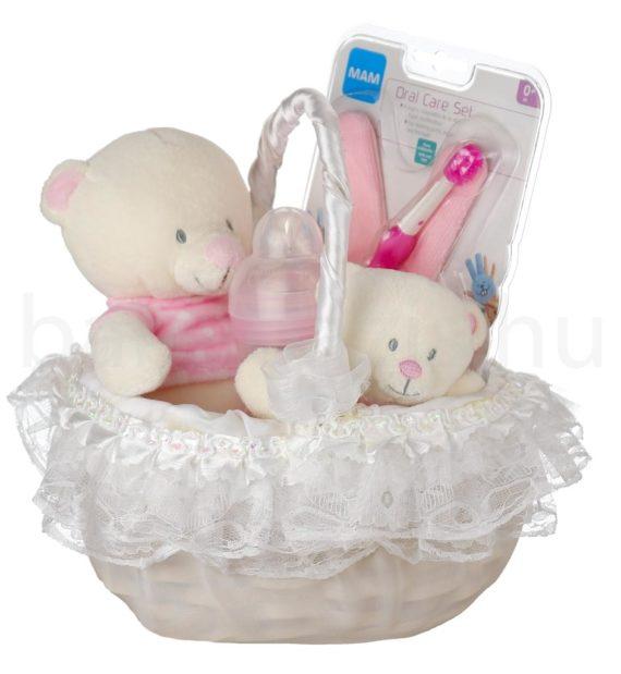 DSCF8757 570x619 - Baby Girl ajándékkosár