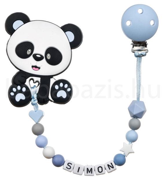ragcsalanc DSCF8883 16 570x619 - Szilikon rágcsalánc -Panda-kék