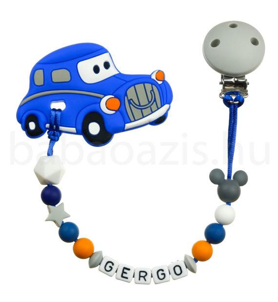 autós rágcsalánc kék