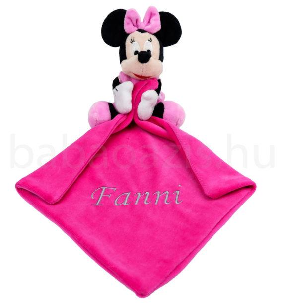 minnie szundikendo DSCF9231 2 570x619 - Névvel hímzett szundikendő-Minnie-pink