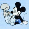 DSCF7235 2 100x100 - Névvel hímzett Disney Mickey babatakaró-világoskék