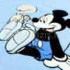 DSCF7236 100x100 - Névvel hímzett Disney Mickey babatakaró-világoskék
