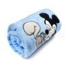 DSCF7240 100x100 - Névvel hímzett Disney Mickey babatakaró-világoskék
