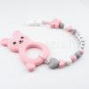 DSCF0513 100x100 - Szilikon rágcsalánc névvel-Nyuszi 2-rózsaszín