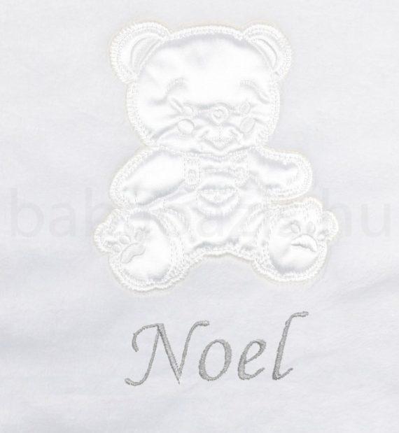 Neves wellsoft babatakaró–Macis-fehér-keresztelőre